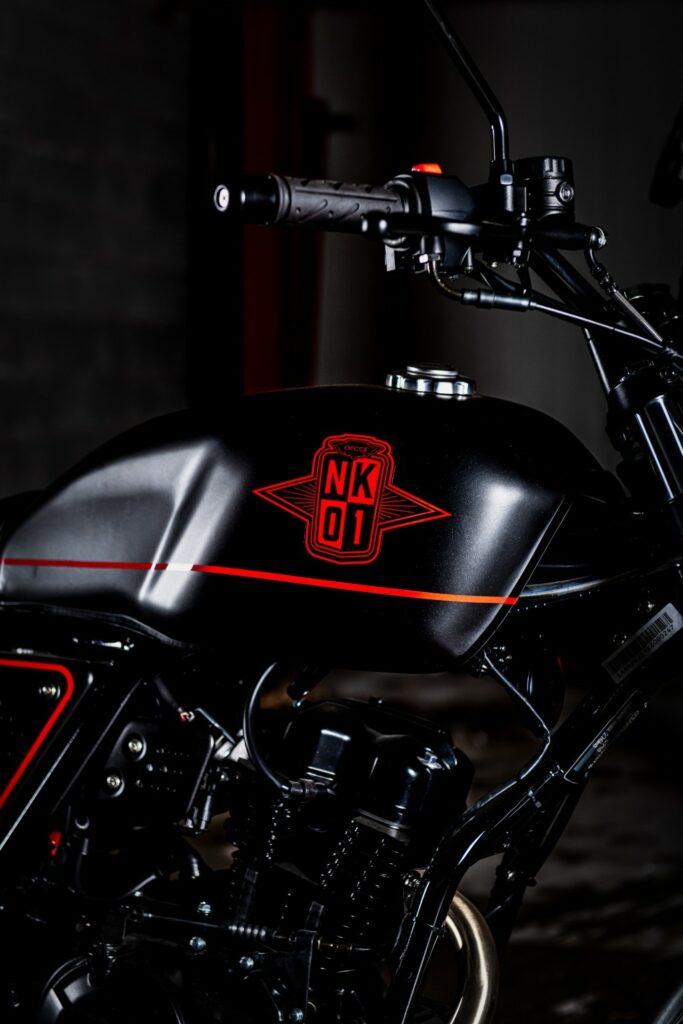 Orcal NK01 Neo-Retro Scrambler @BW Motors te Mechelen