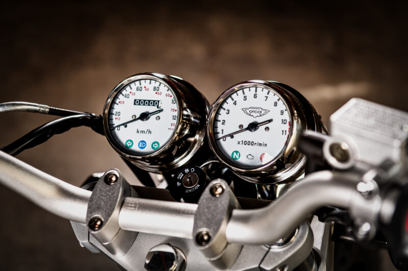 Orcal Sirio 125cc Classic Wit @ BW Motors Mechelen