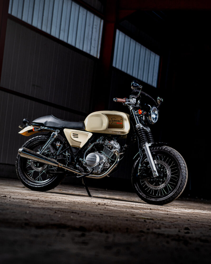 Orcal Sprint 125cc Beige @BW Motors Mechelen
